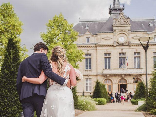 Le mariage de Jérôme et Bérénice à Épinay-Champlâtreux, Val-d'Oise 13