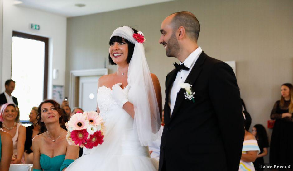 Le mariage de Dhiab et Aurélie à Martigues, Bouches-du-Rhône