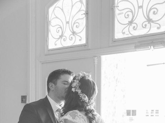 Le mariage de Vincent et Audrey à Surville, Manche 12