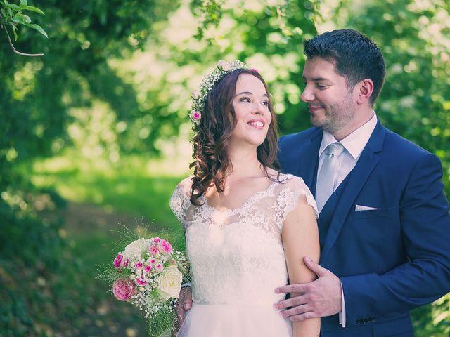 Le mariage de Vincent et Audrey à Surville, Manche 15