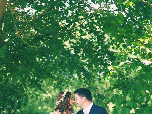 Le mariage de Vincent et Audrey à Surville, Manche 16