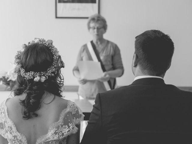Le mariage de Vincent et Audrey à Surville, Manche 18