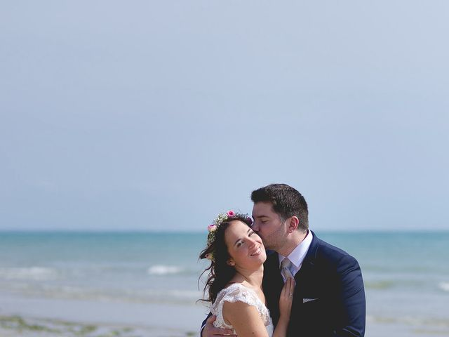 Le mariage de Vincent et Audrey à Surville, Manche 21