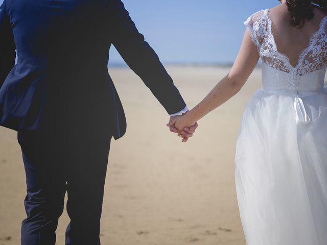 Le mariage de Vincent et Audrey à Surville, Manche 23