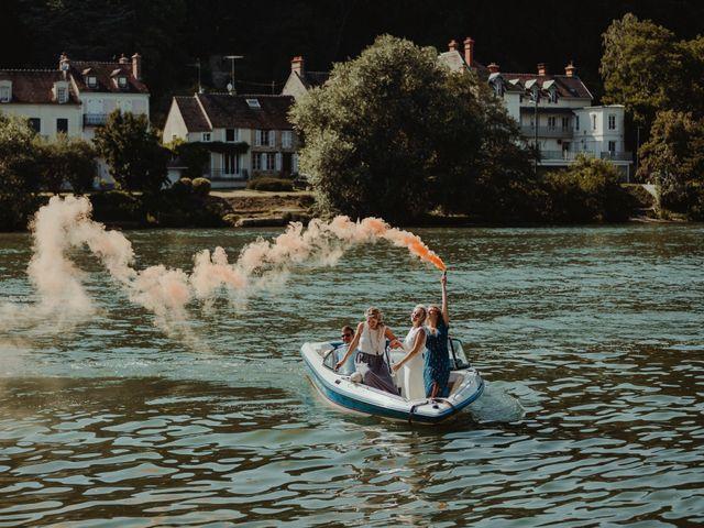 Le mariage de Simon et Anais à Vulaines-sur-Seine, Seine-et-Marne 90