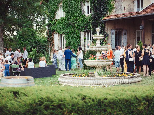 Le mariage de Thomas et Elise à Châtillon-sur-Chalaronne, Ain 110