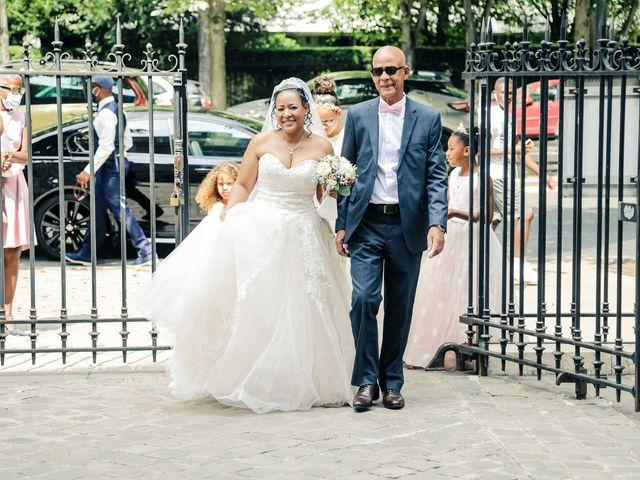 Le mariage de Franck et Clarisse à Paris, Paris 16