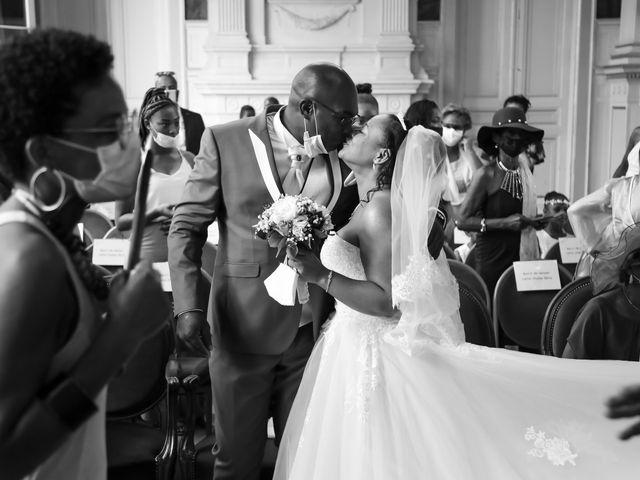 Le mariage de Franck et Clarisse à Paris, Paris 20