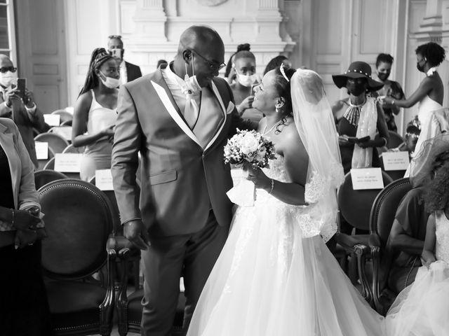 Le mariage de Franck et Clarisse à Paris, Paris 21