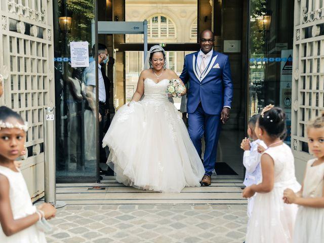 Le mariage de Franck et Clarisse à Paris, Paris 62