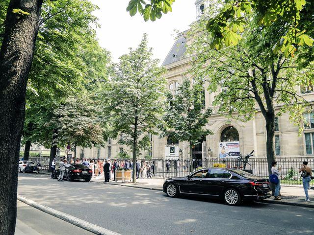 Le mariage de Franck et Clarisse à Paris, Paris 66