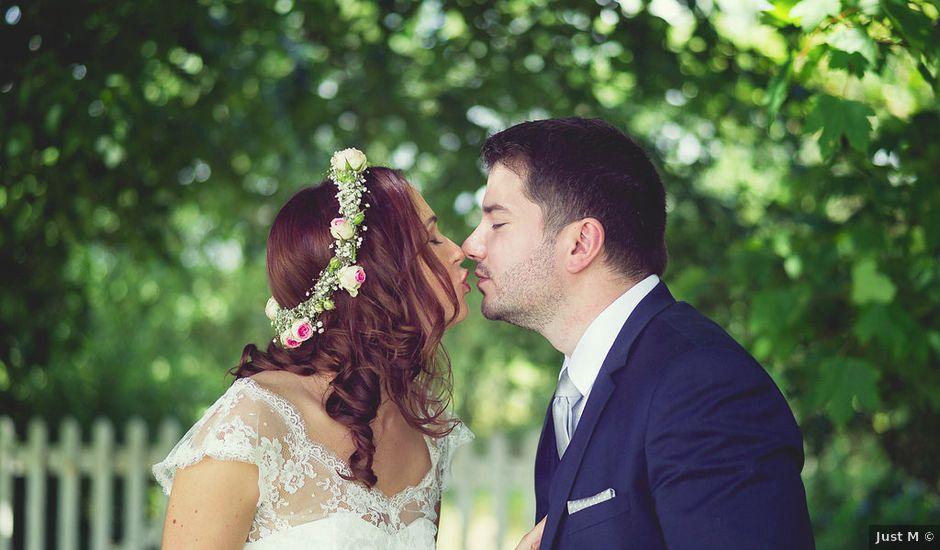 Le mariage de Vincent et Audrey à Surville, Manche