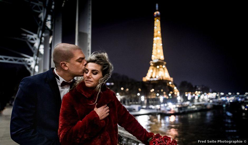 Le mariage de Kévin et Fanny à Paris, Paris