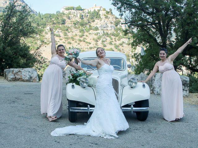 Le mariage de Rene et Laetitia à Gourdon, Alpes-Maritimes 15