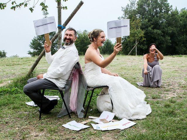 Le mariage de Rene et Laetitia à Gourdon, Alpes-Maritimes 17