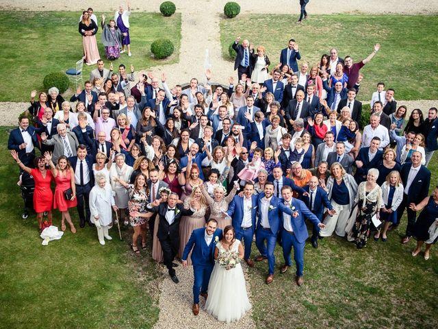 Le mariage de Jonathan et Manon à Cerny, Essonne 77