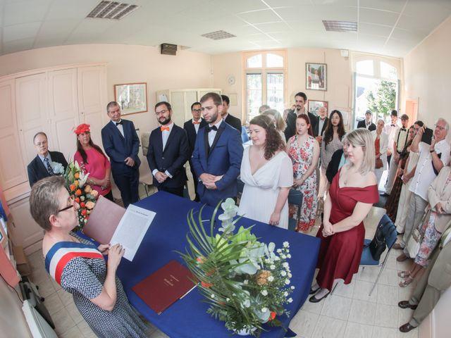 Le mariage de Pascal et Ombeline à Pontarmé, Oise 2