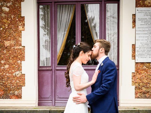 Le mariage de Helena et Justin à Rosny-sur-Seine, Yvelines 8