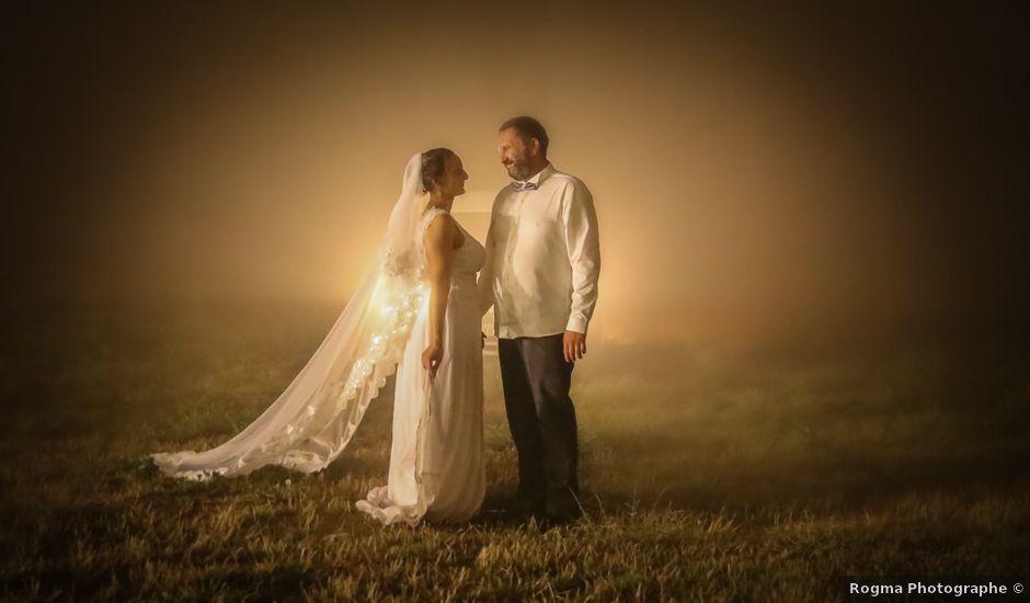 Le mariage de Rene et Laetitia à Gourdon, Alpes-Maritimes