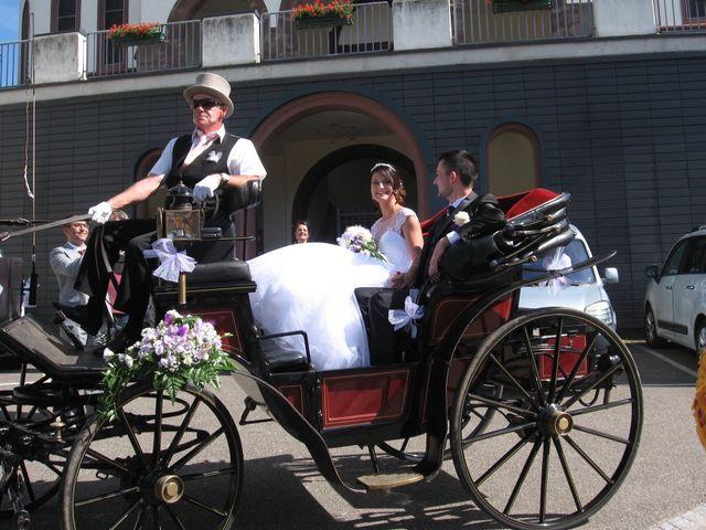 Le mariage de Francesco et Elodie  à Blotzheim, Haut Rhin 19