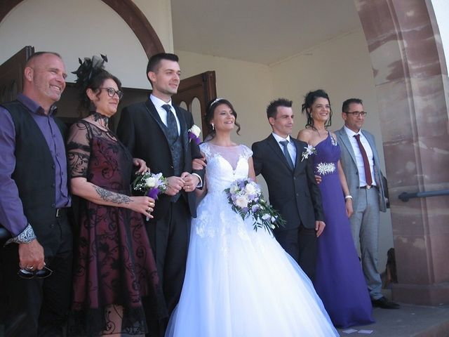 Le mariage de Francesco et Elodie  à Blotzheim, Haut Rhin 21