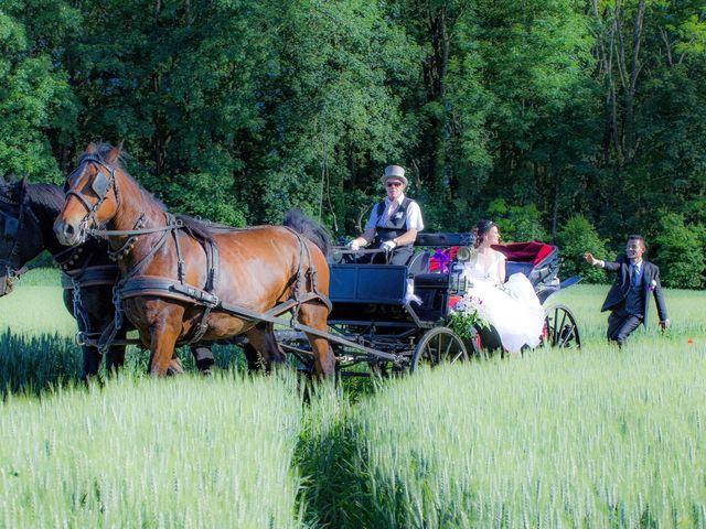 Le mariage de Francesco et Elodie  à Blotzheim, Haut Rhin 40
