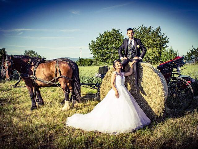 Le mariage de Francesco et Elodie  à Blotzheim, Haut Rhin 44