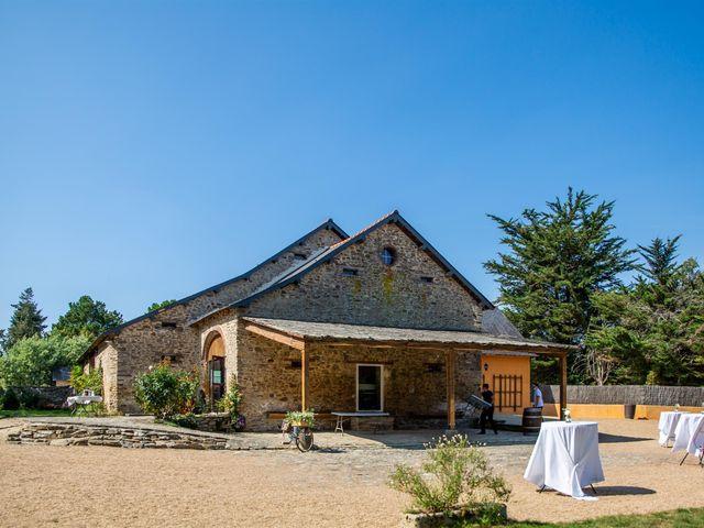 Le mariage de Anis et Cécile à Vallons-de-l'Erdre, Loire Atlantique 56