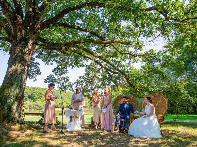 Le mariage de Anis et Cécile à Vallons-de-l'Erdre, Loire Atlantique 81