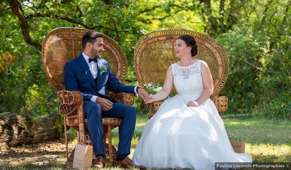 Le mariage de Anis et Cécile à Vallons-de-l'Erdre, Loire Atlantique