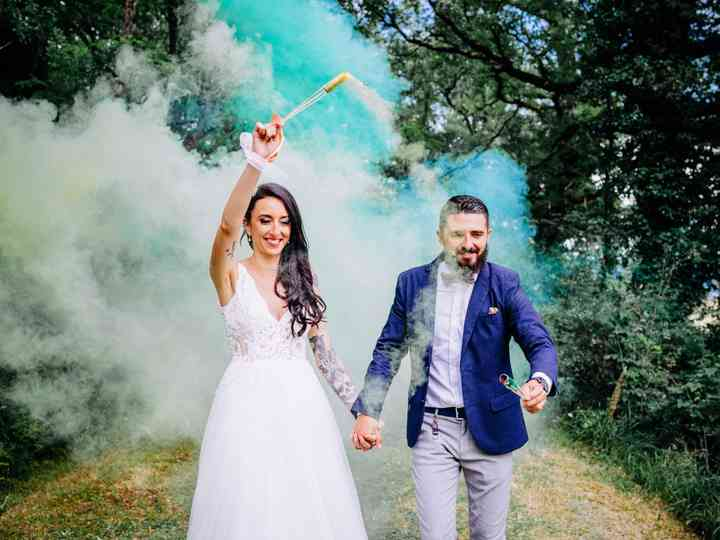 Le mariage de Stéphanie et Dorian