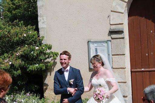 Le mariage de Paul  et Coralie  à Saint-Maur, Indre 6