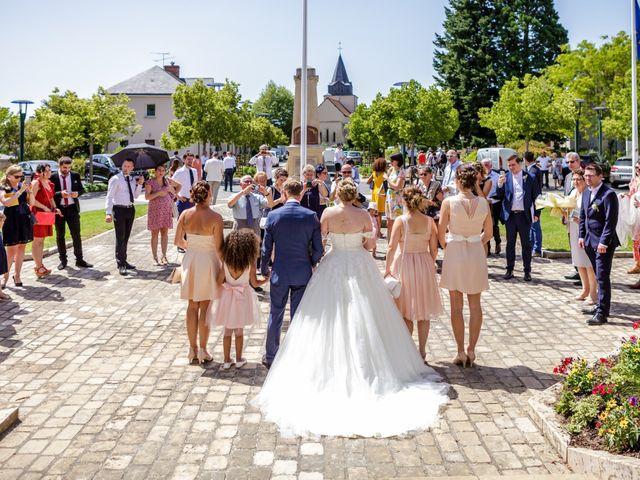 Le mariage de Paul  et Coralie  à Saint-Maur, Indre 80
