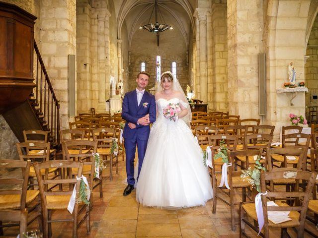 Le mariage de Paul  et Coralie  à Saint-Maur, Indre 92