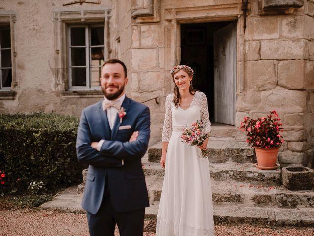 Le mariage de Adrien et Marie à Saint-Dier-d'Auvergne, Puy-de-Dôme 37
