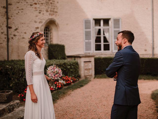 Le mariage de Adrien et Marie à Saint-Dier-d'Auvergne, Puy-de-Dôme 1