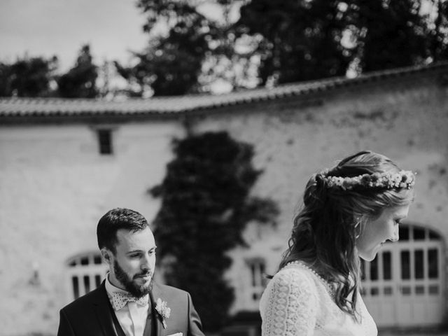 Le mariage de Adrien et Marie à Saint-Dier-d'Auvergne, Puy-de-Dôme 38
