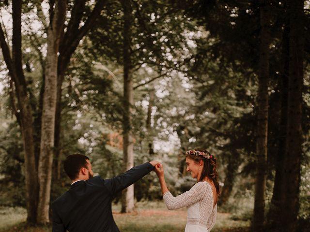 Le mariage de Adrien et Marie à Saint-Dier-d'Auvergne, Puy-de-Dôme 89
