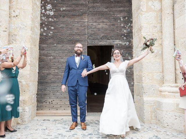 Le mariage de Edouard et Louise à La Romieu, Gers 7