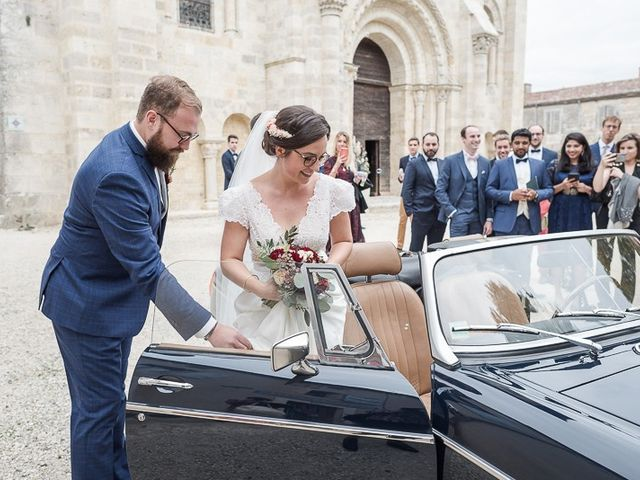 Le mariage de Edouard et Louise à La Romieu, Gers 8
