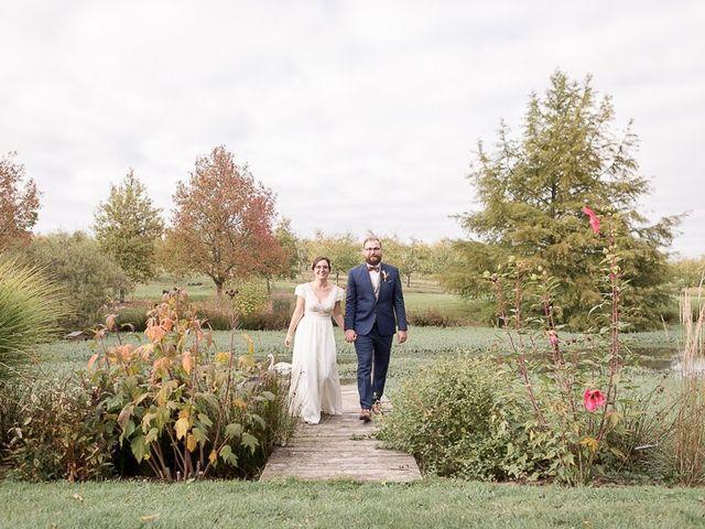 Le mariage de Edouard et Louise à La Romieu, Gers 20