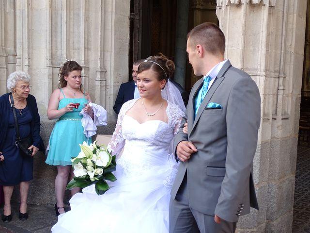 Le mariage de Florian et Séverine à Alençon, Orne 3