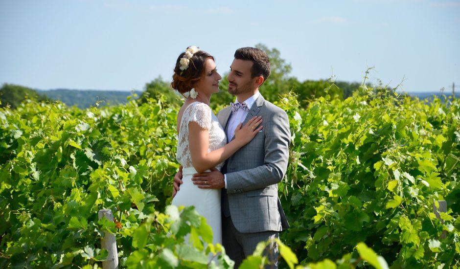 Le mariage de Anthony et Justine à noizay, Indre-et-Loire