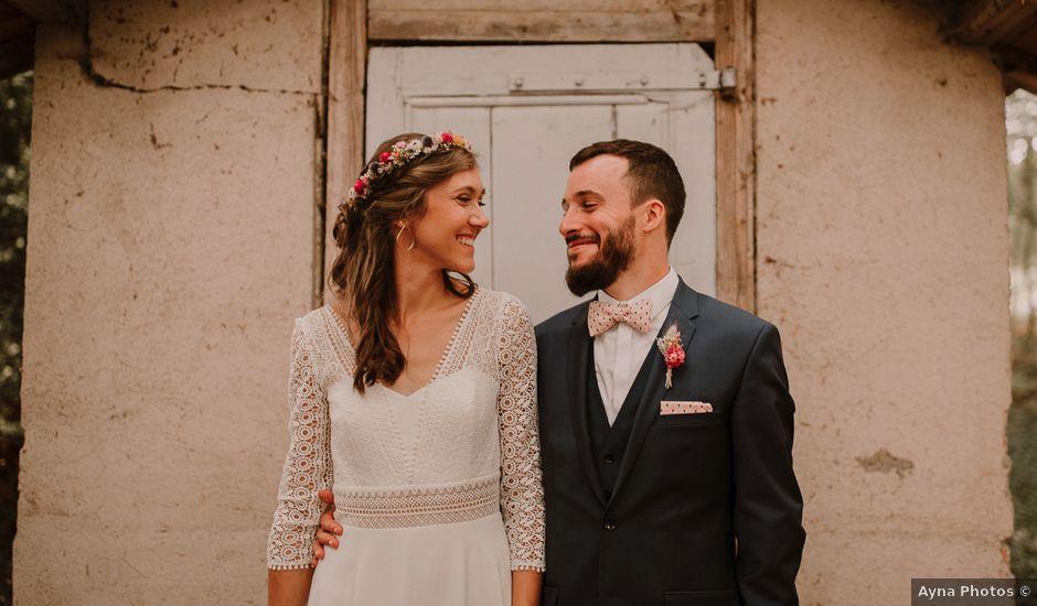 Le mariage de Adrien et Marie à Saint-Dier-d'Auvergne, Puy-de-Dôme