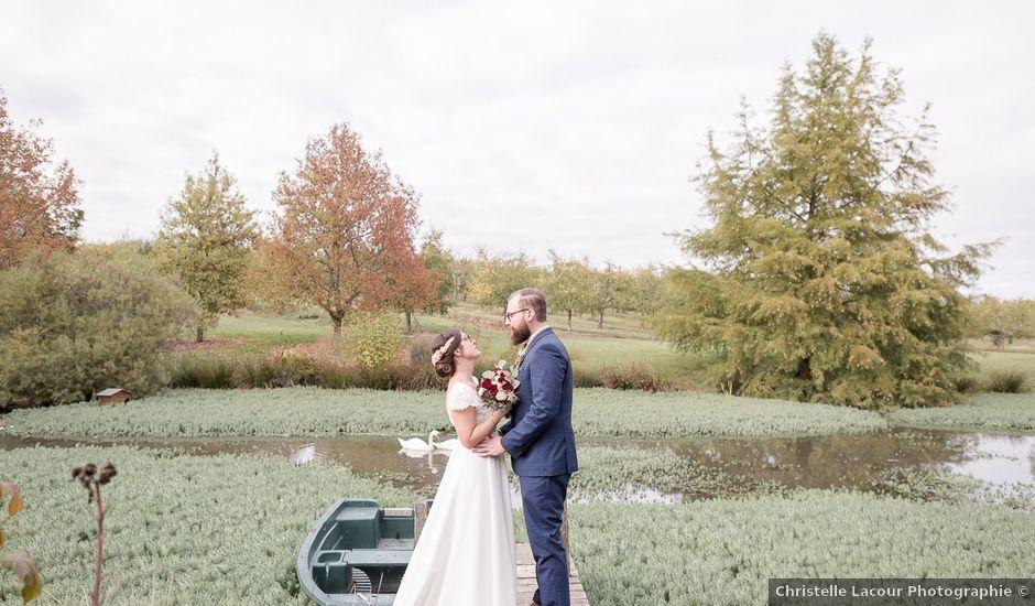 Le mariage de Edouard et Louise à La Romieu, Gers