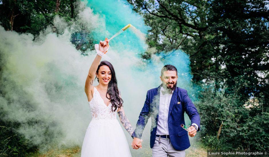 Le mariage de Dorian et Stéphanie à Saint-Germain-des-Prés, Tarn
