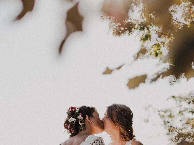 Le mariage de Coralie et Sarah à Loubens, Gironde 34