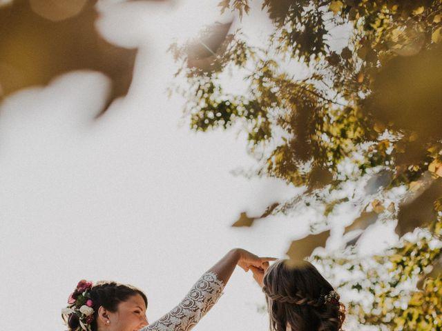 Le mariage de Coralie et Sarah à Loubens, Gironde 35