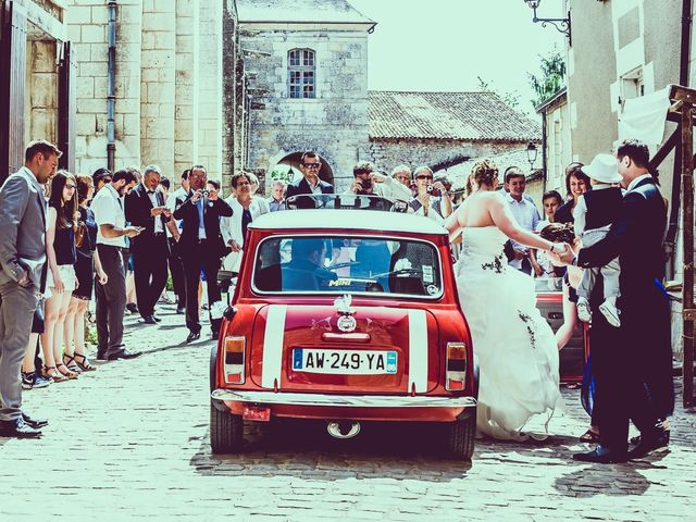 Le mariage de Benjamin et Mélanie à Fleuré, Vienne 2