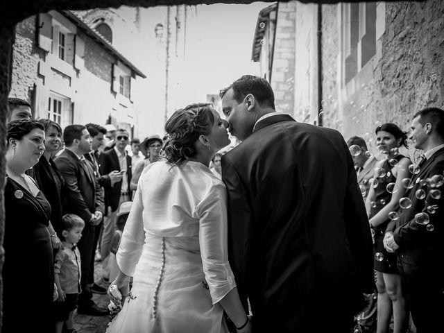 Le mariage de Benjamin et Mélanie à Fleuré, Vienne 9